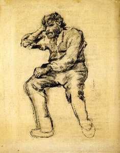 Seated Man with a Beard