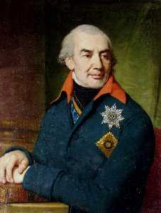 Portrait of Prince G S Volkonsky