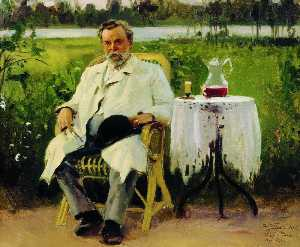 portrait de i . E . Tsvetkov