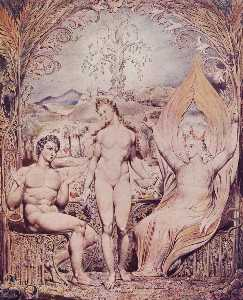 Archangel Raphael with Adam and Eve