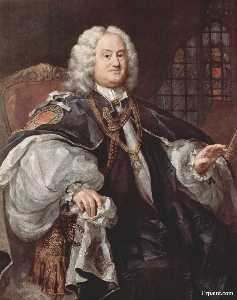 Portrait of Bischofs Benjamin Hoadly