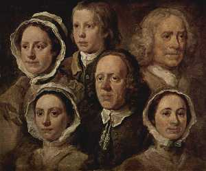 The servants of the painter