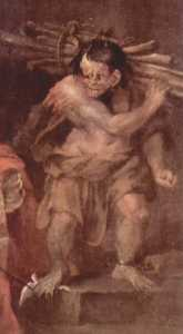 Caliban from ''The Tempest'' of William Shakespeare