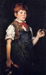 The Apprentice, aka Boy Smoking