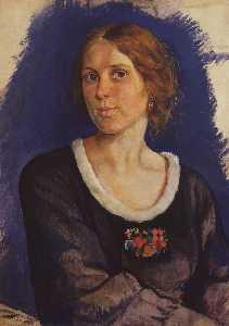 Portrait of A.I. Kunina