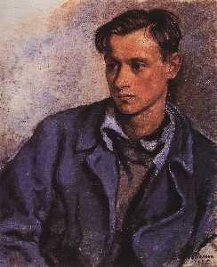 Portrait of his son Alexander