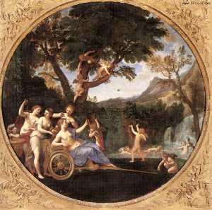 Spring (Venus at her Toilet)