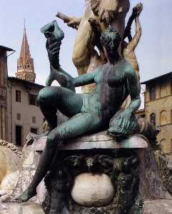 The Fountain of Neptune (detail)