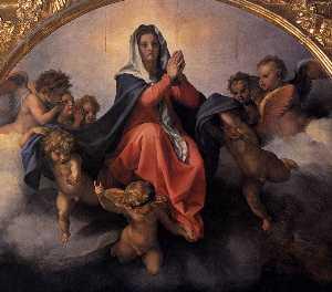 Assumption of the Virgin (detail)