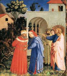 The Apostle St James the Great Freeing the Magician Hermogenes