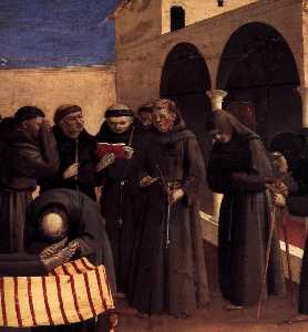 The Lamentation over St Francis (detail)