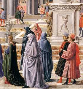 The Presentation of the Virgin in the Temple (detail)