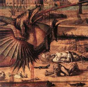 St George and the Dragon (detail)