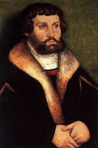 Portrait of a Bearded Young Man