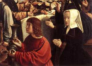 The Marriage at Cana (detail)