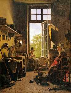 Interior of a Kitchen (detail)