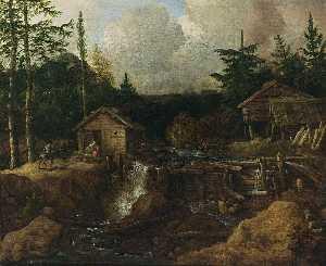 Scandinavian Wooded Landscape