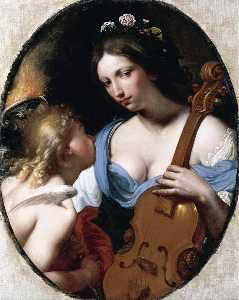 Personification of Music (St Cecilia)