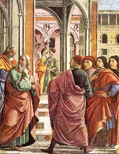 Expulsion of Joachim from the Temple (detail)