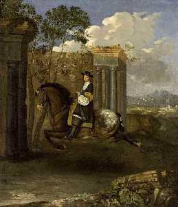 Equestrian Portrait of a Gentleman