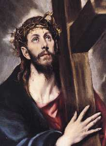 Christ Carrying the Cross (detail)