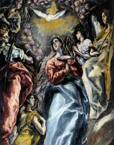 The Virgin of the Immaculate Conception (detail)