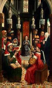 Master Of The Catholic Kings
