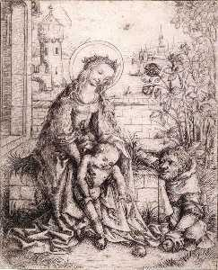 The Holy Family with the Rose-bush