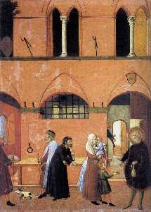 St Anthony Distributing his Wealth to the Poor