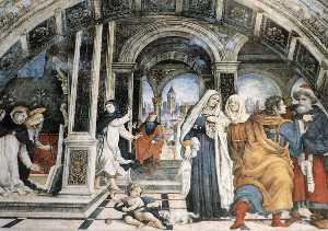 Miracle of St Thomas Aquinas