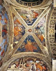 The Ceiling of the Carafa Chapel