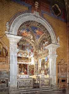 View of the Carafa Chapel