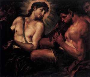 Apollo, Pan, and Marsyas