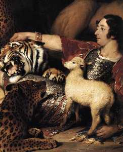 Isaac van Amburgh and his Animals (detail)