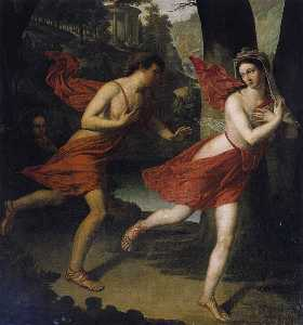 Pauline as Daphne Fleeing from Apollo