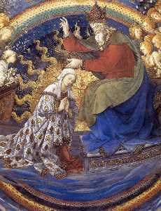 Coronation of the Virgin (detail) (17)
