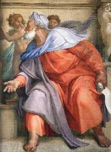 Ezekiel (detail)