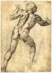 Two Nude Studies (recto)