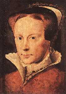 Portrait of Mary, Queen of England