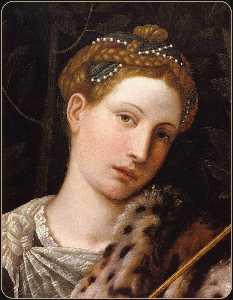 Portrait of Tullia d'Aragona as Salome (detail)