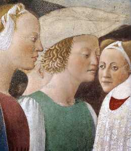 2a. Procession of the Queen of Sheba (detail)