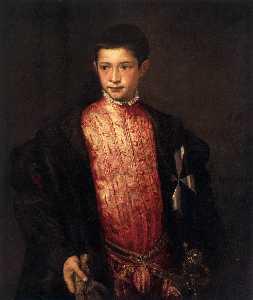 Porträt von Ranuccio Farnese