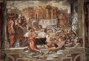 Paul III Farnese Directing the Continuance of St Peter's