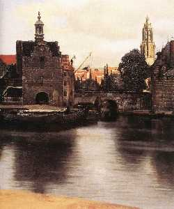 View of Delft (detail)