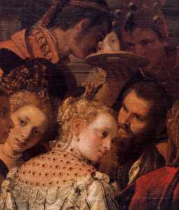 Marriage at Cana (detail)