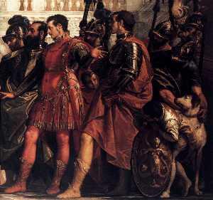 The Family of Darius before Alexander (detail)