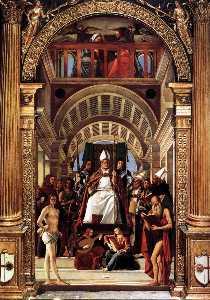 Altarpiece of St Ambrose