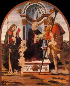 Madonna and Child with Sts James and Christopher