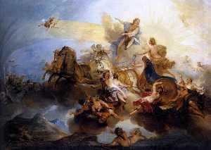 Phaethon on the Chariot of Apollo