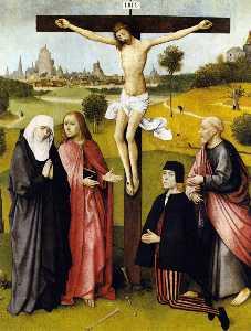 Crucifixion avec un Donneur